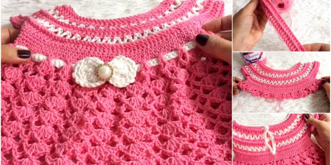 Aprende Vestido Crochet – Talla 1 año